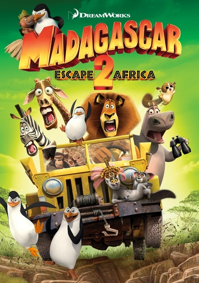 Madagascar 2 (NL) movie poster