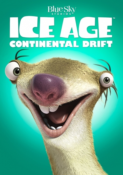 Ice Age 4: Continental Drift (OV) movie poster