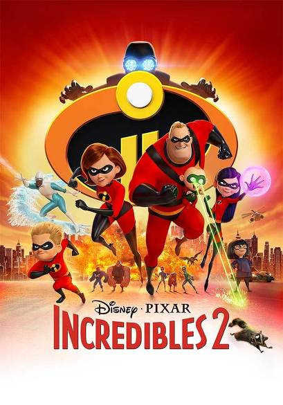 Incredibles 2 (NL) movie poster