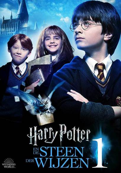 Harry Potter en de Steen der Wijzen movie poster