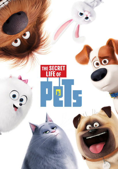 The Secret Life of Pets (OV) movie poster