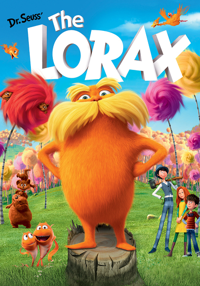 Dr. Seuss' The Lorax (OV) movie poster