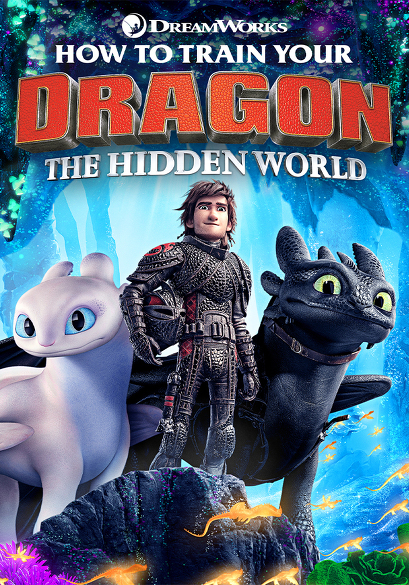 How to Train Your Dragon 3: Hidden World (OV) movie poster