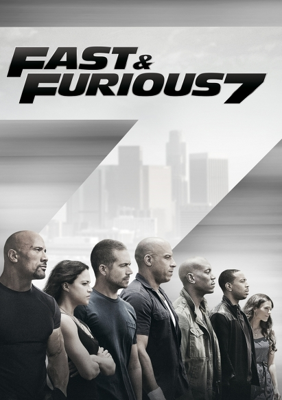 Fast & Furious 7 movie poster
