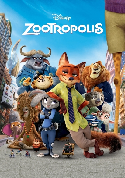 Zootropolis (OV) movie poster