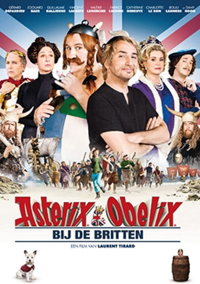 Asterix & Obelix bij de Britten movie poster