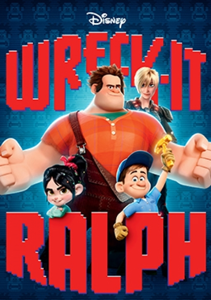 Wreck-It Ralph (NL) movie poster